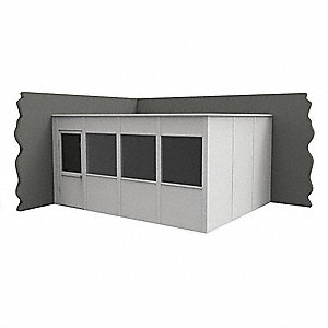 Modular In-Plant Office,2Wall,12x16