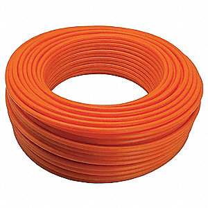 PEX Tubing,Orange,5/8In,1200Ft,160psi