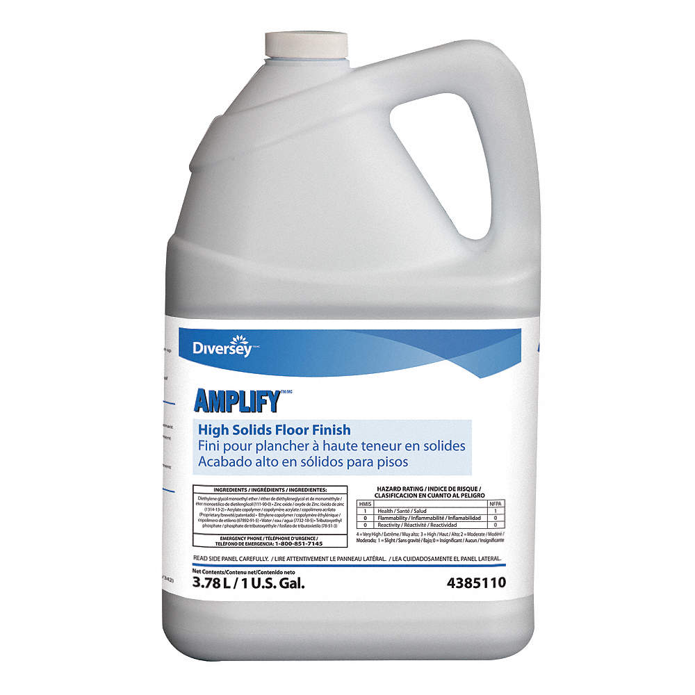 Diversey 4385110 High Solids Floor Finish, 30 to 45 min. at Sears.com