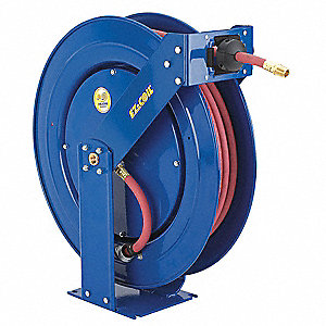"1/2"", 100 ft. Hose Reel, 300 psi Max. Pressure"