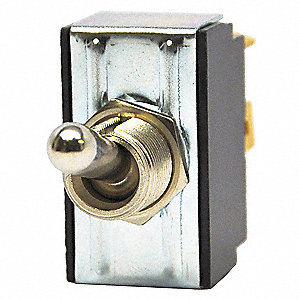 Toggle Switch, Number of Connections: 4, Switch Function: On/On