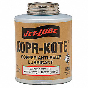 Anti Seize Compound,Copper,16 oz.