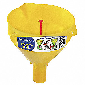 Auto Stop Funnel, 16 Oz.