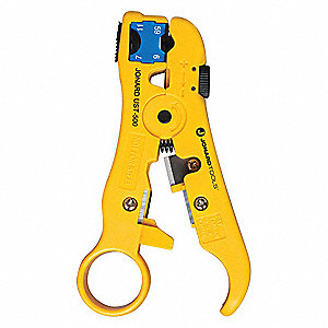 "Universal Cable Stripping Tool,5"" Overall Length,RG59/6 and 7/11  Capacity,RG59/6 and 7/11  Cable Ty"