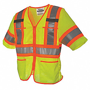 Mesh High Visibility Vest, Class 3