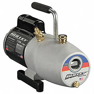 Refrig Evacuation Pump,7.0 cfm,6 ft.