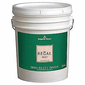 benjamin moore interior paint semi gloss 5 gal safari 10x054. Black Bedroom Furniture Sets. Home Design Ideas