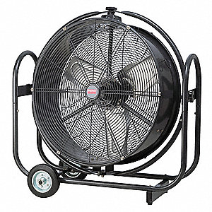 "24"" Commercial Mobile Non-Oscillating Orbital Air Circulator"