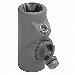"Sealing Fitting, Iron, Male to Female Connection, 2-1/2"" Conduit Size"