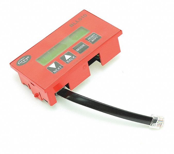 Fireye Lcd Keypad Display With Cable  Fits Brand Fireye