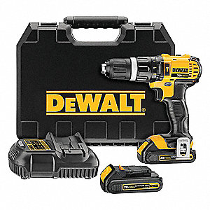 "1/2"" Cordless Hammer Drill Kit, Voltage 20.0 Li-Ion, Battery Included"
