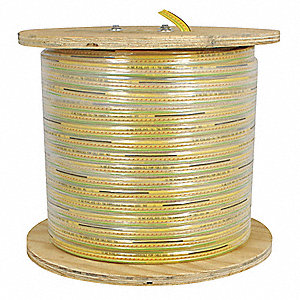 Flat Festoon Cable,PVC,16/12c,130 Ft L