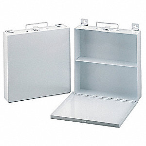 Empty First Aid Case,Wall Mount,Metal