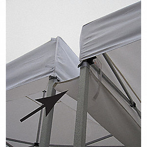 Rain Gutter Canopy Connection