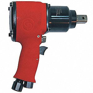 "Industrial Duty Air Impact Wrench, 3/4"" Square Drive Size 195 to 650 ft.-lb."