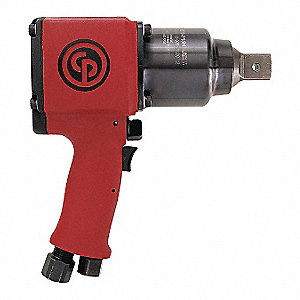 "Industrial Duty Air Impact Wrench, 1"" Square Drive Size 195 to 650 ft.-lb."