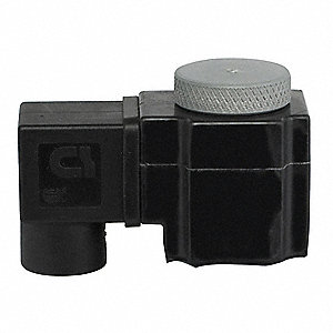 Solenoid Valve Coil, Coil Insulation Class F, 24VAC Voltage, 11 Watts