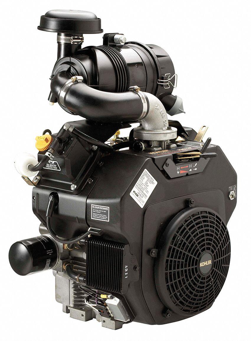 Kohler Gasoline Engine  4 Cycle  25 Hp  3600 Rpm - 24tm20