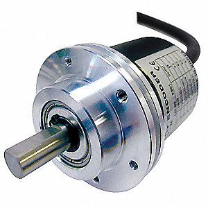 PNP Open Collector Output Type, Encoder, Shaft Absolute,Shaft Dia., 720 Pulses per Revolution