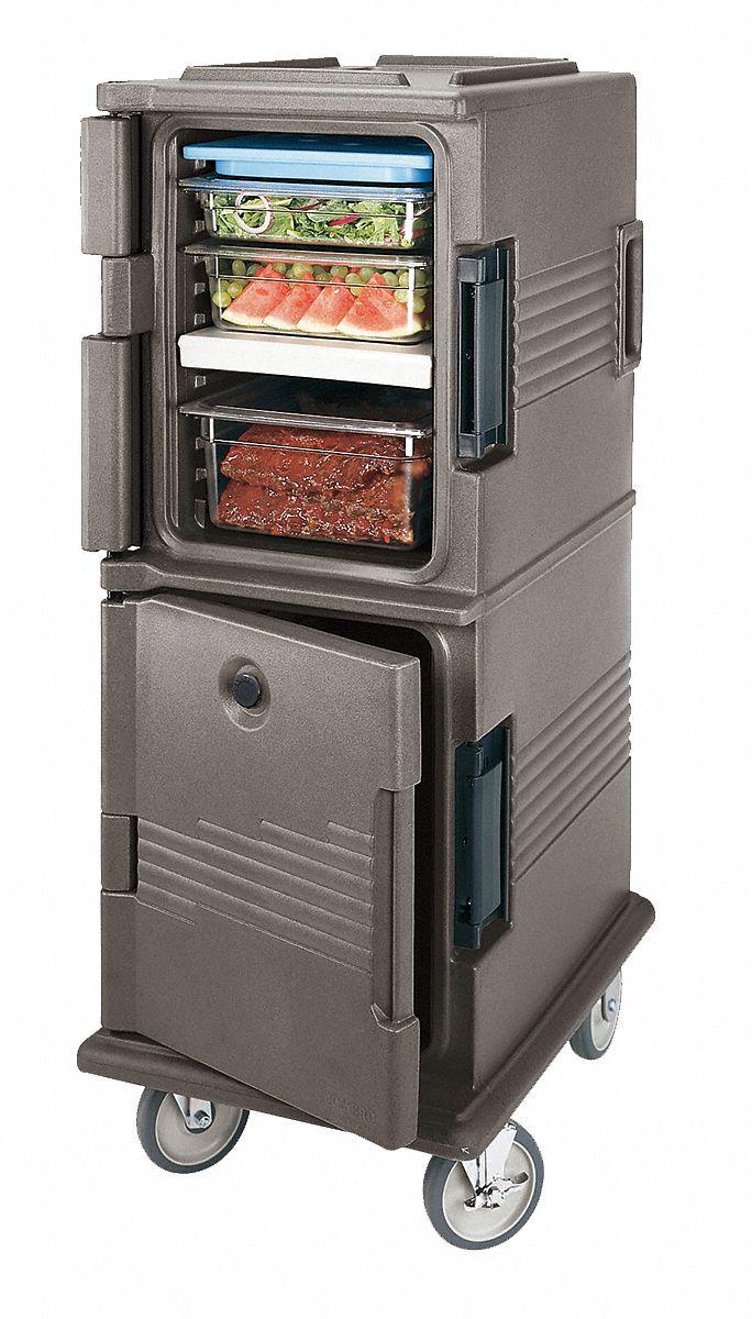 Cambro Food Cart 54 Inch H Granite Green 11n735