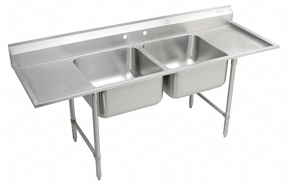 Elkay Stainless Steel Scullery Sink Without Faucet 16