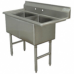 Scullery Sink, 2 Station