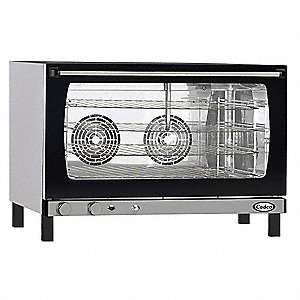 Convection Oven,4 Shelves,Full Size
