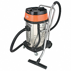 20 gal. Commercial Wet/Dry Vacuum, 1.33 Peak HP, 120 Voltage