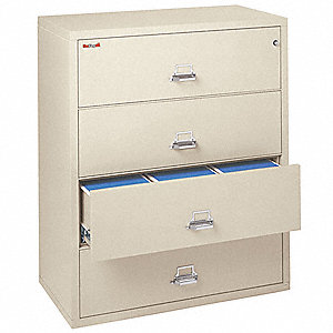 Lateral File,4 Drawer,44-1/2 In. W