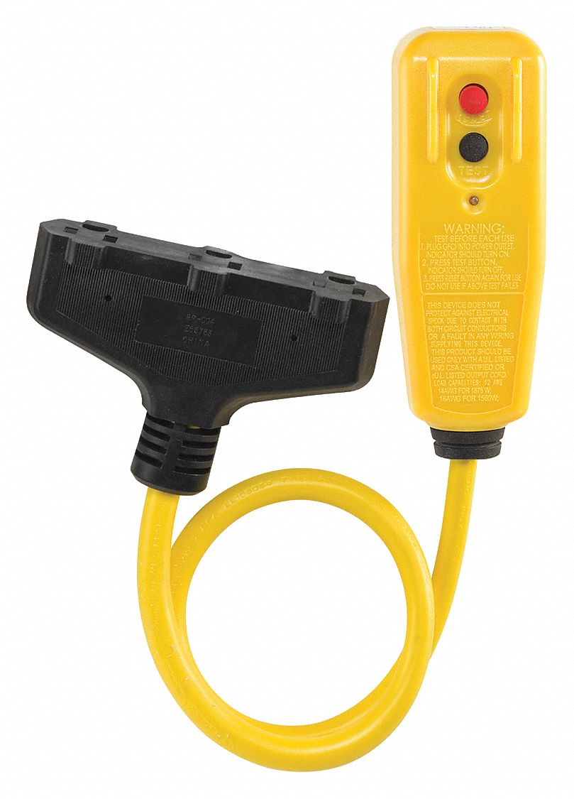Power First Plug In Gfci With Cord 125vac Voltage Rating