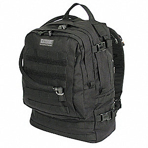 "Black Hydration Pack, 100 oz./3L Capacity, Depth 6"", Length 14"", Width 19"""