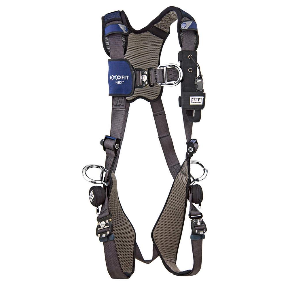 3M-DBI-SALA-Full-Body-Harness-M-420-lb-Blue-1113211-Blue