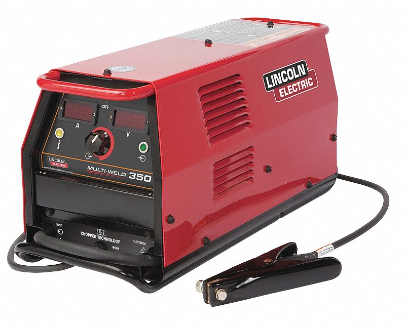 Lincoln electric multiprocess welder 350 amps dc 12a986 for Lincoln electric motors catalog