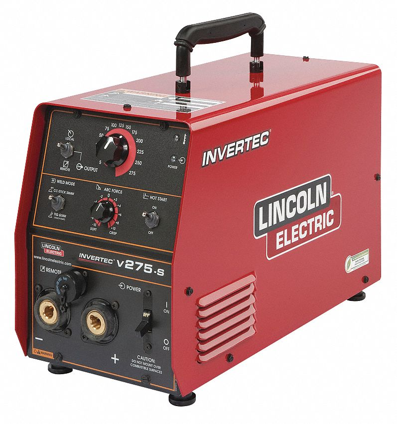 Lincoln electric multiprocess welder invertec series for Lincoln electric motors catalog