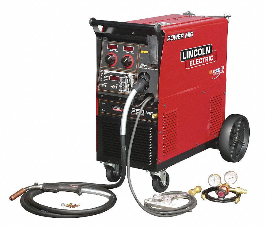 Lincoln electric multiprocess welder power mig 5 350 amps for Lincoln electric motors catalog