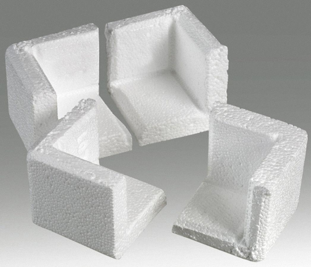 Polar Tech Corner Protectors 3 4 In White Pk80 12f325