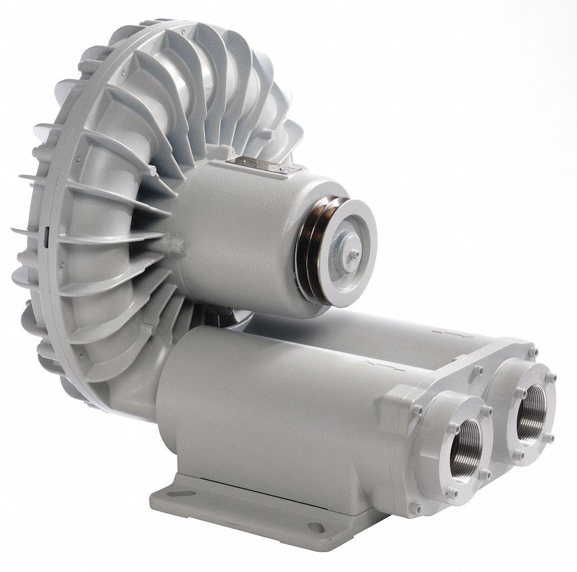 Miniature Regenerative Blowers : Fuji electric separate drive regenerative blower quot inlet