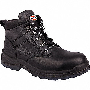 Work Boots, Size 8-1/2, Toe Type: Steel, PR