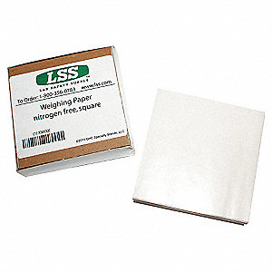 Weighing Paper,6 In. L,6 In. W,PK500