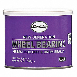 Wheel Bearing Grease,Lithium,14 oz.