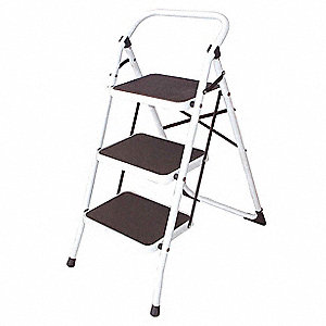 Grainger Approved Household Step Stool 3 Ft H 300 Lb