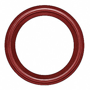 Sanitary Gasket,1In,TRI-Clamp,BUNA