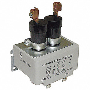 Mercury Displacement Contactor, 120VAC Coil Volts, 35A Contact Amp Rating (Resistive)