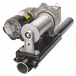Electric Winch,4HP,115VAC