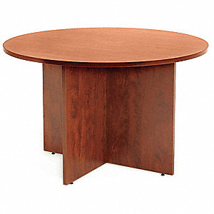 Conference Table,Legacy,42 Dia.,Cherry