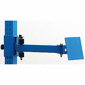 Articulating Monitor Arm,4Wx8Dx18H,Blue