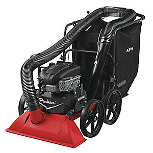 Outdoor Litter Vacuum with Hose, Drive Type: Push, Bag Volume: 10 cu. ft., Cleaning Path: 30""