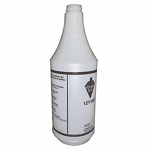 Green/Clear Polyethylene Preprinted Bottle, 32 oz., 1 EA
