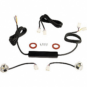 LED In-Line Corner Kit,Amber/Amber