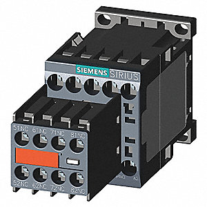 4NO/4NC IEC Control Relay, 10A and 6A, 120VAC, Din Rail Mounting